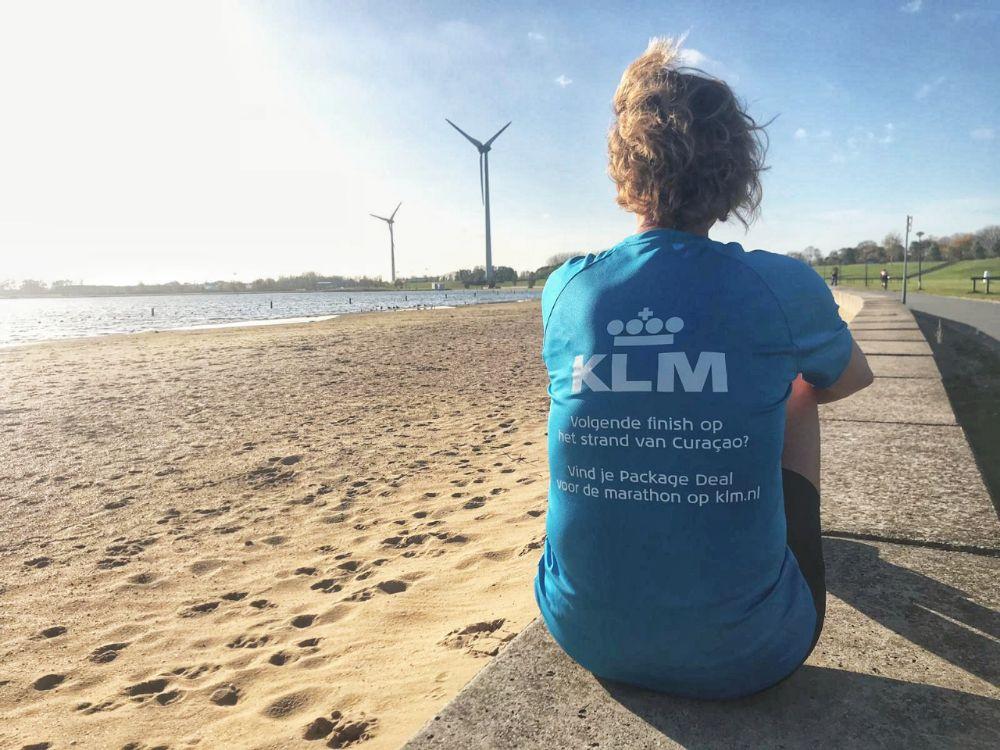 Halve marathon van Curacao - twijfel