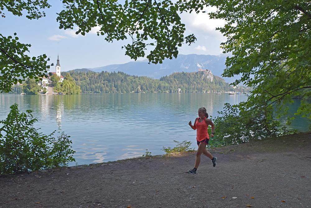 Hardlopen in Bled