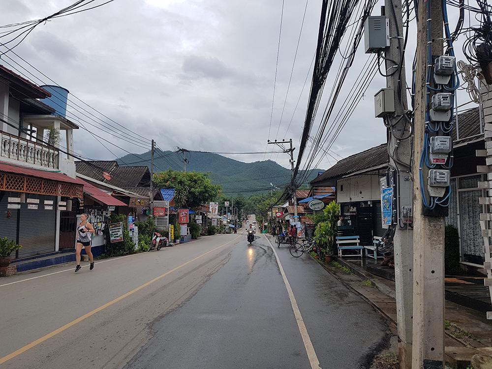 Hardlopen in Pai - Thailand 10