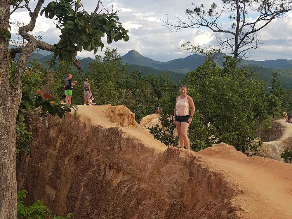 Hardlopen in Pai - Thailand 2