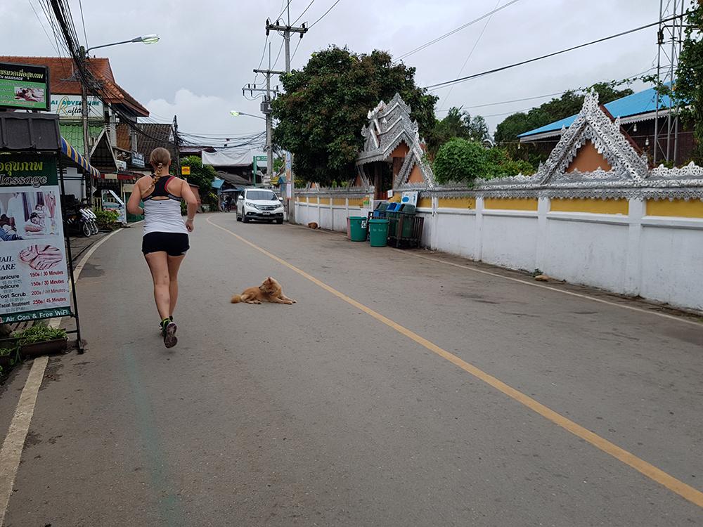 Hardlopen in Pai - Thailand 5
