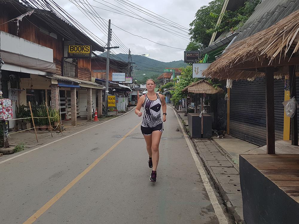 Hardlopen in Pai - Thailand 6