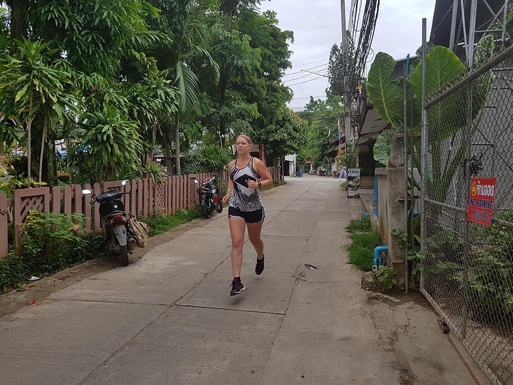 Hardlopen in Pai - Thailand 7