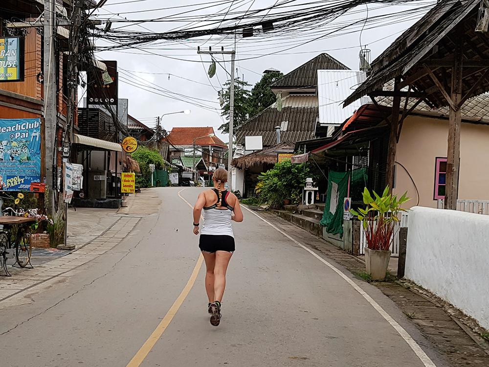 Hardlopen in Pai - Thailand 8