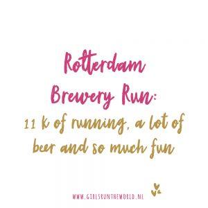 Brewery Run Rotterdam