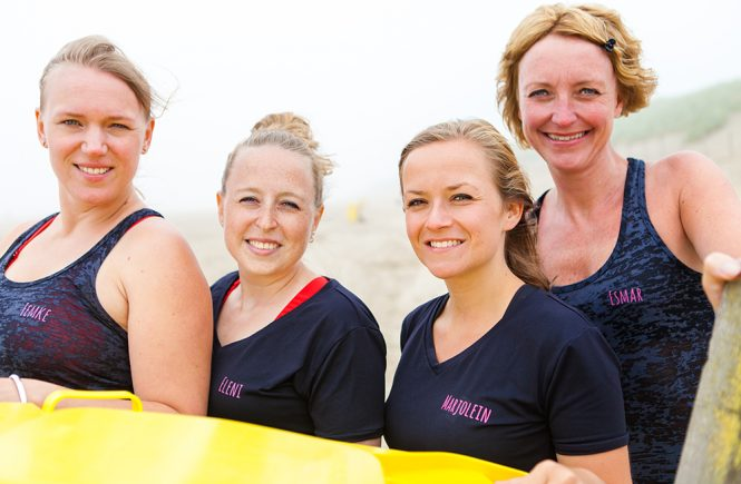 girls run the world groepsfoto loopmaatjes