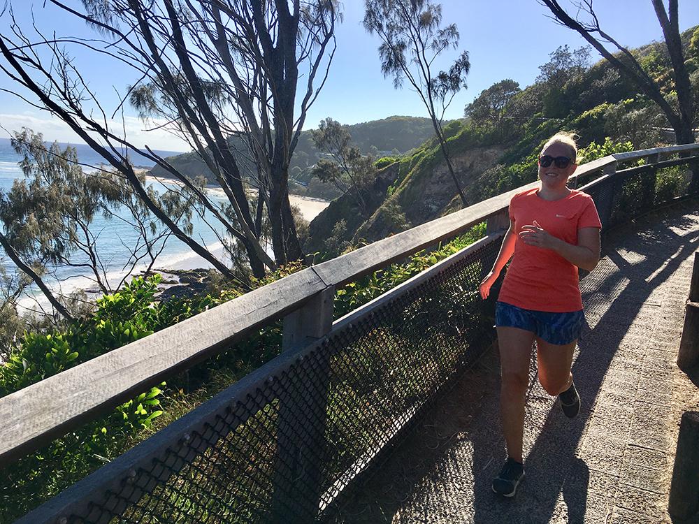 Hardlopen in Byron Bay Australië 1
