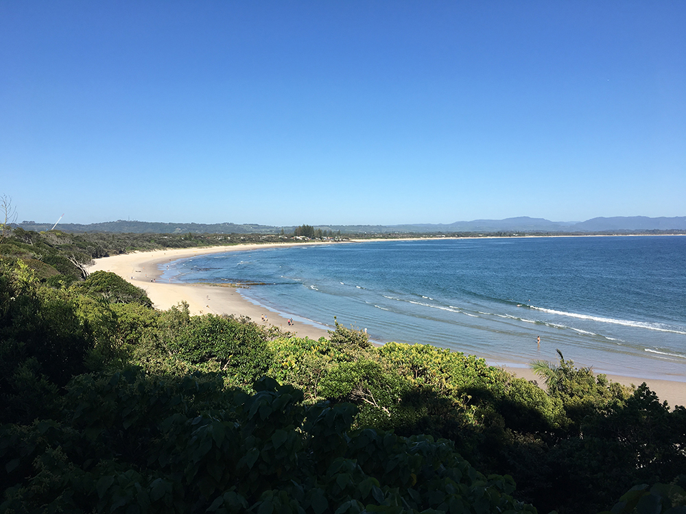 Hardlopen in Byron Bay Australië 4