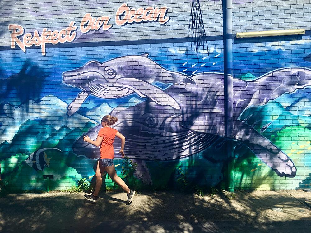Hardlopen in Byron Bay Australië 8
