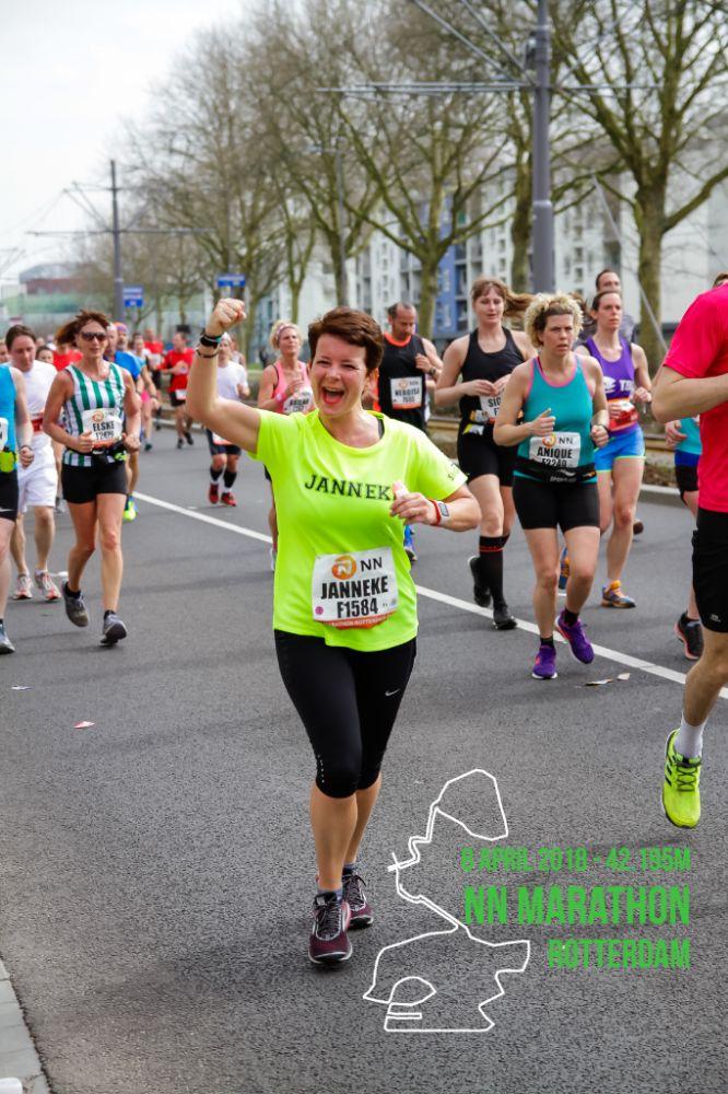 Janneke Poort - Marathon Rotterdam