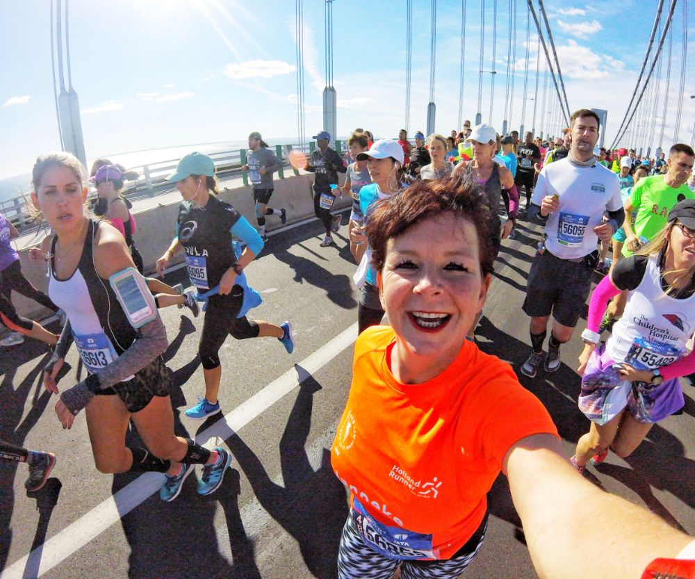 Janneke Poort - marathon van New York