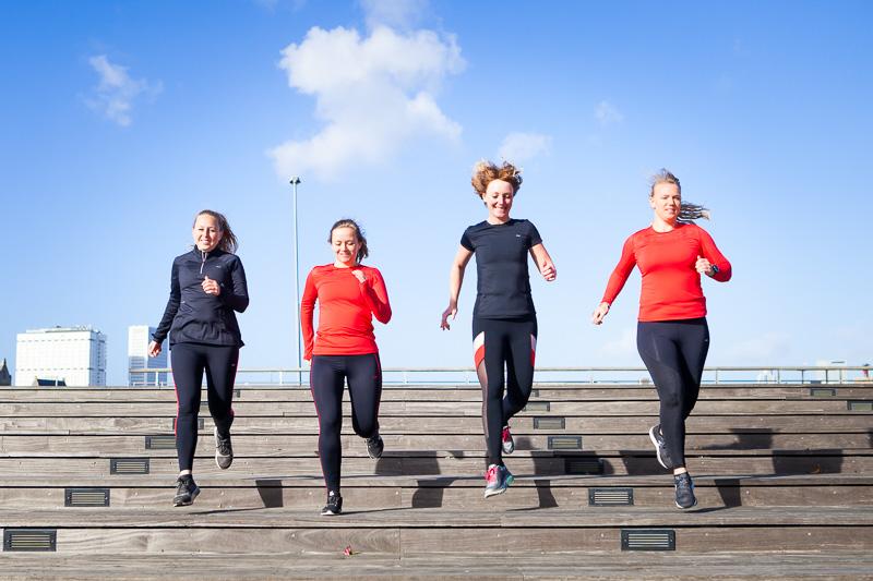 rohnish sportkleding girls run the world