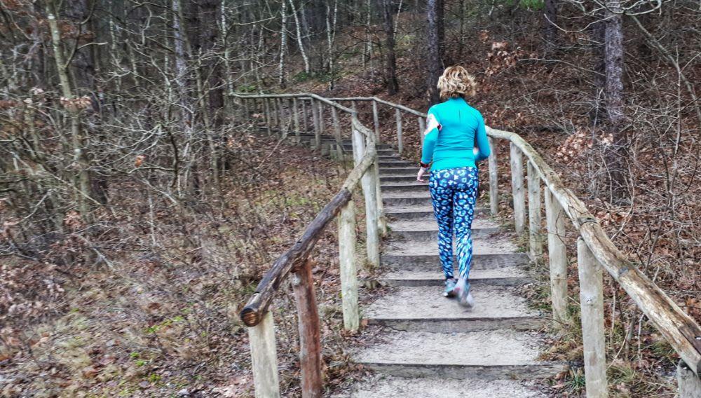 Hardlopen in Schoorl - het hoogste duin