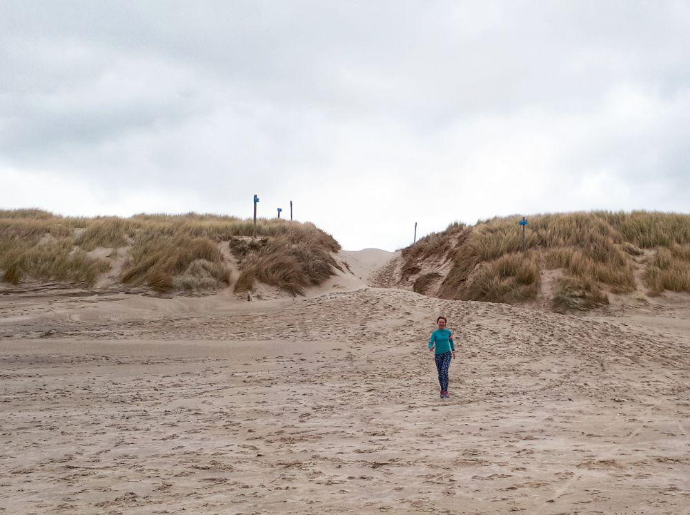 Hardlopen in Schoorl - het strand op rennen