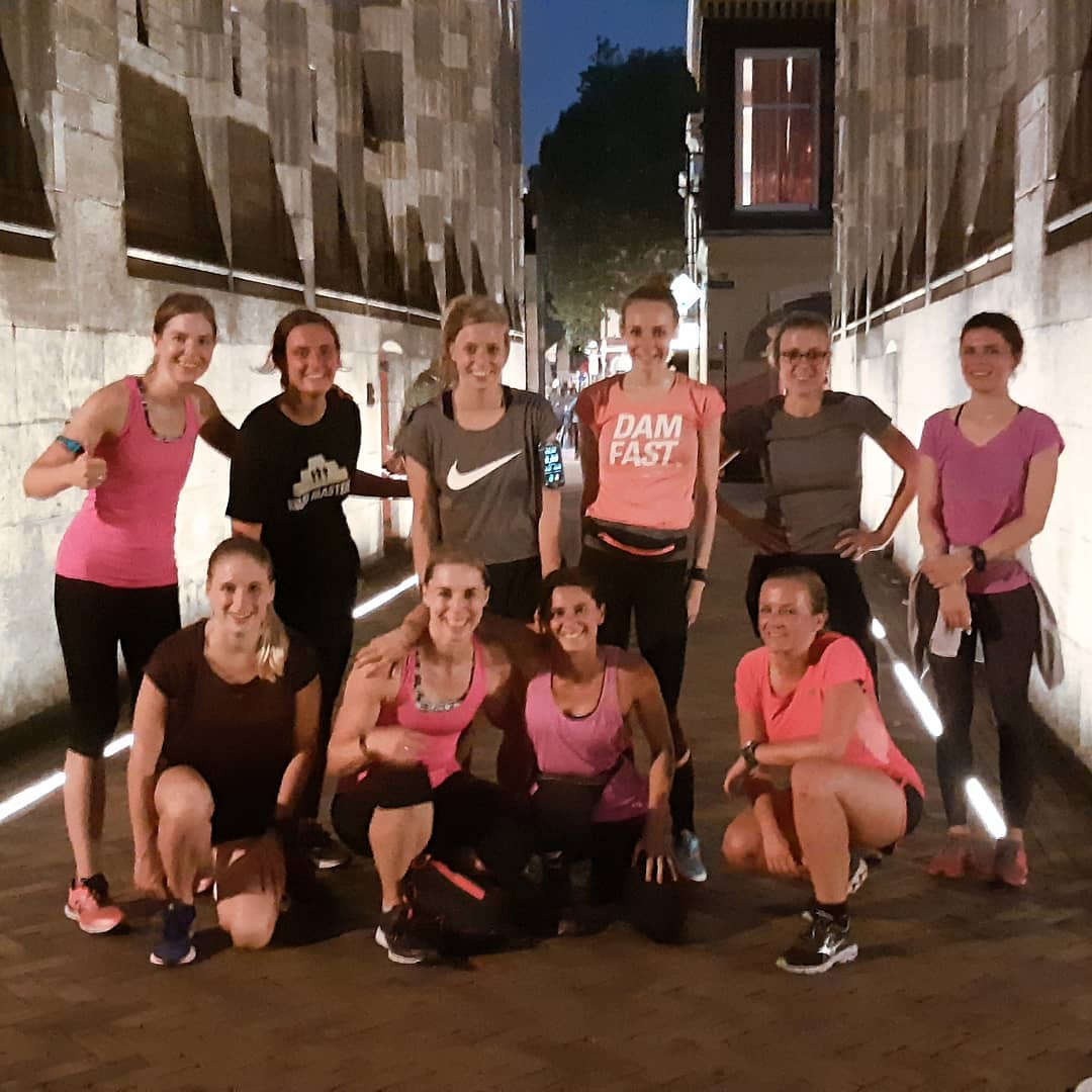 Girls Running Squad in Utrecht