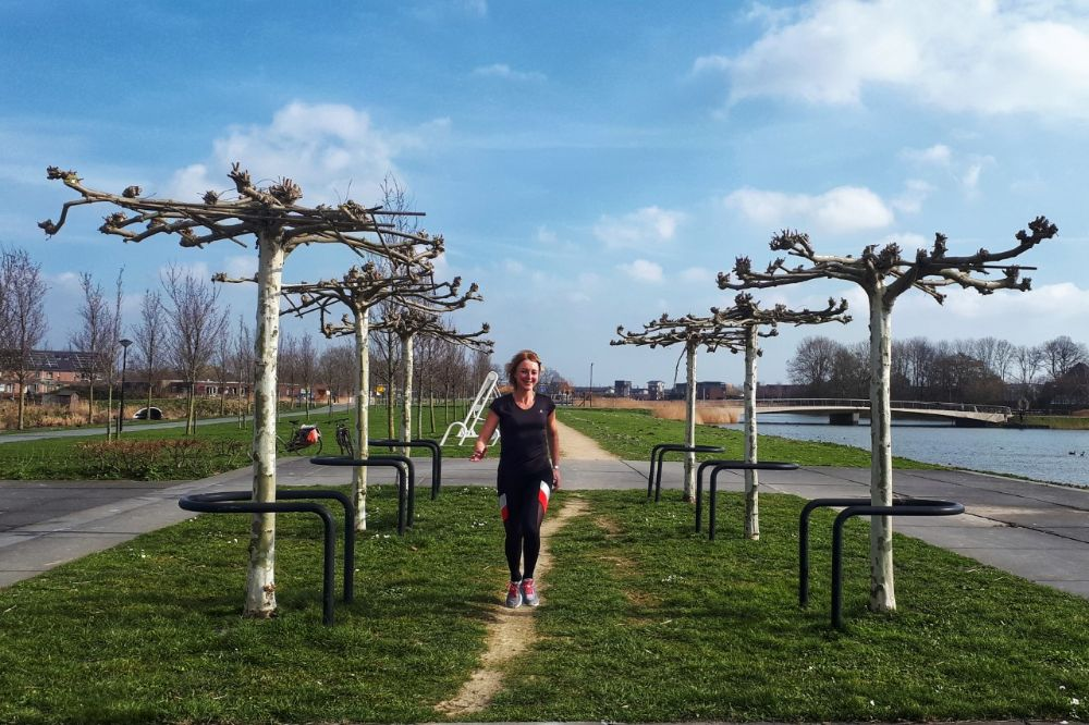 Hardlopen in Heerhugowaard - mooie bomen