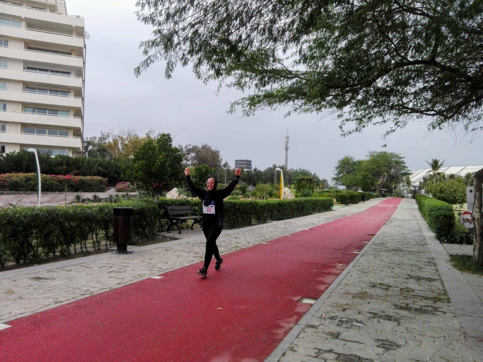 Persian Gulf Marathon Iran vrouwen
