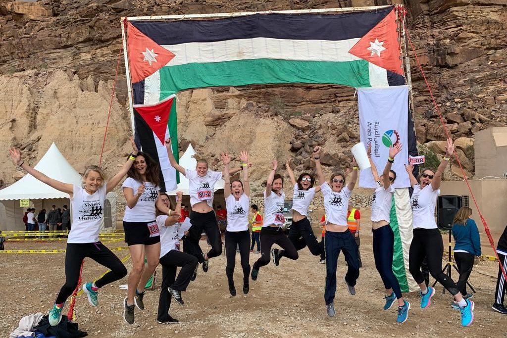 dead2red hardloopwedstrijd jordanie