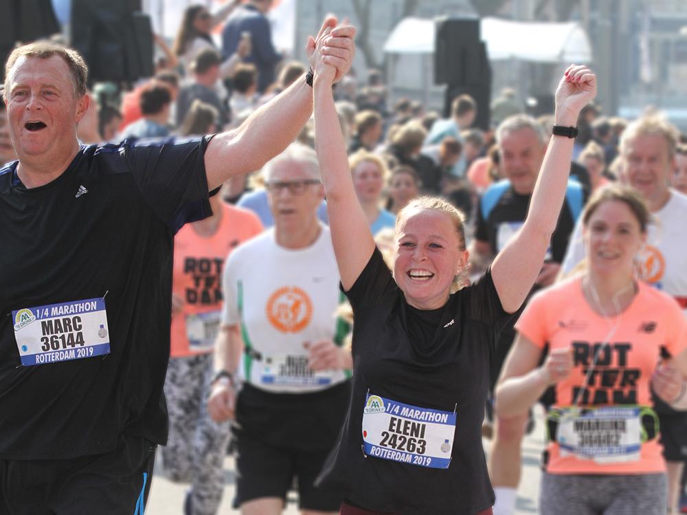 1/4 Marathon Rotterdam 1