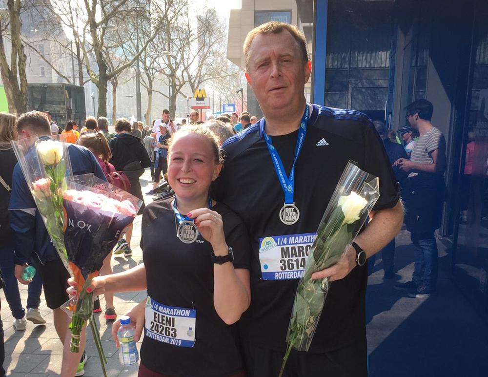 1/4 Marathon Rotterdam 2