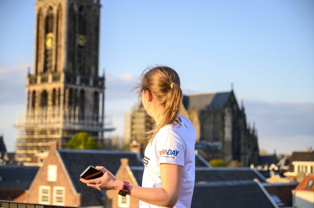 hardlopen in Utrecht Domtoren