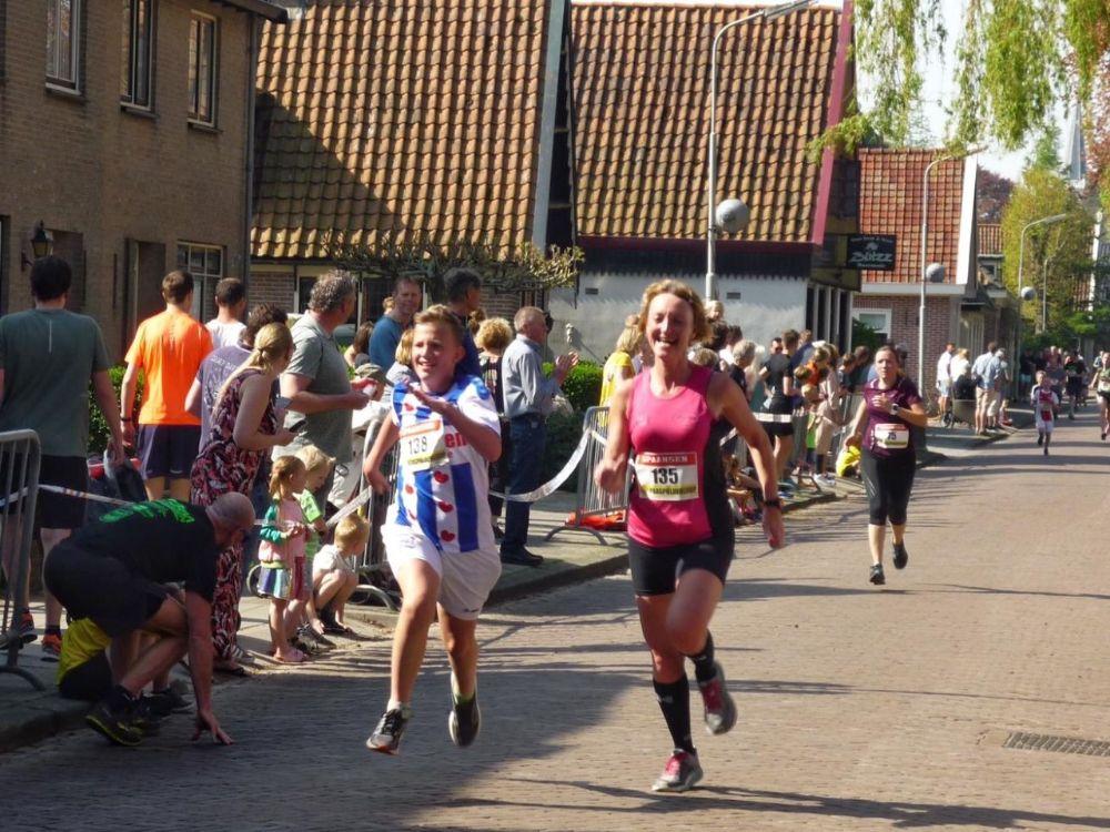 Paaspolderloop - Jelle en Esmar