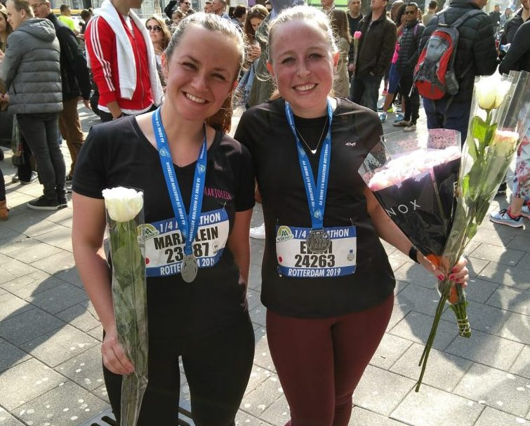 Kwart Marathon Rotterdam 2019