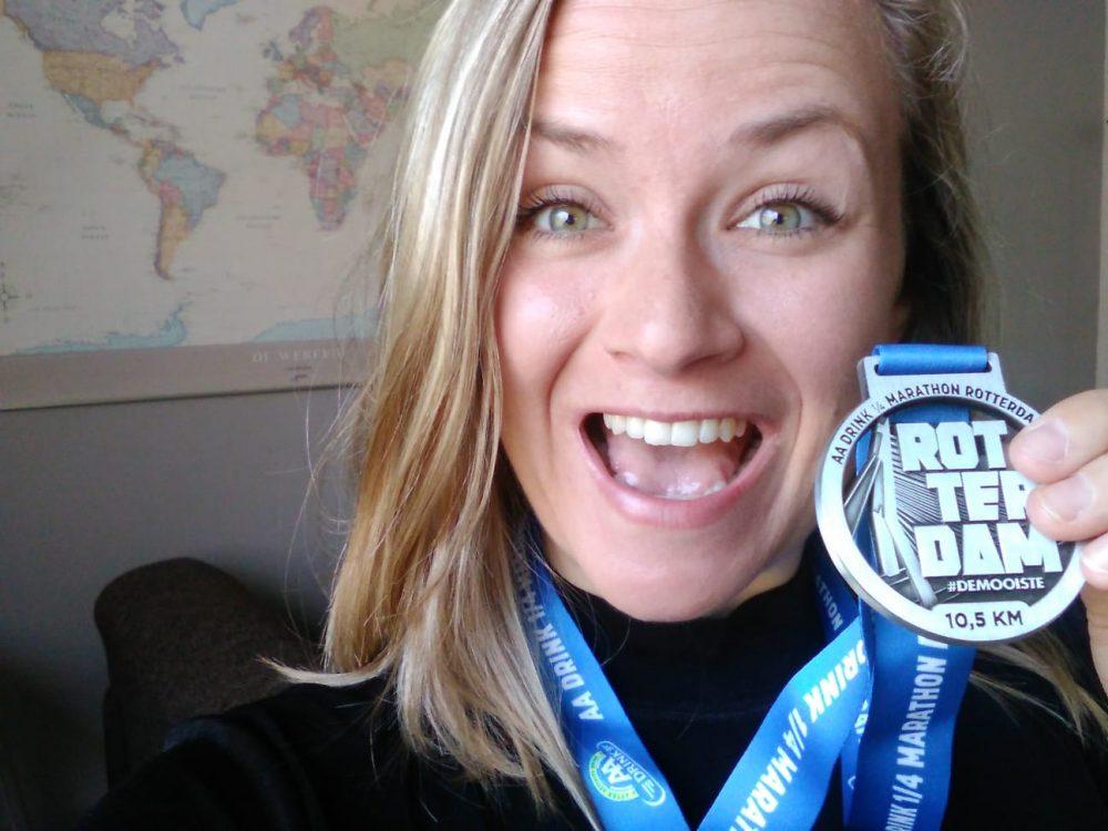 Rotterdam marathon medaille