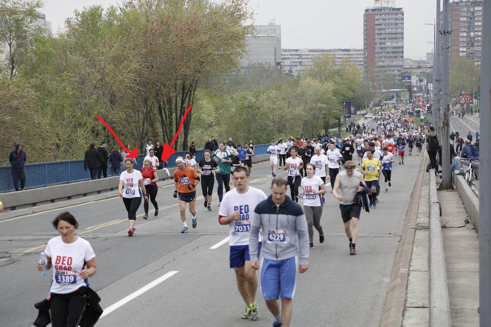 Halve marathon Belgrado