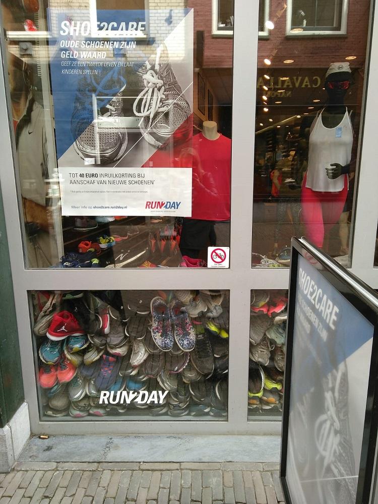 Shoe2care inruilactie hardloopschoenen run2day utrecht