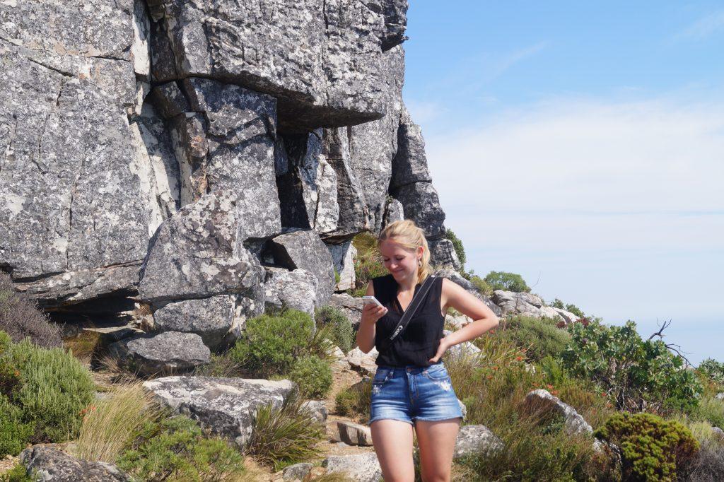 Hiken Kaapstad Tafelberg hardlopen