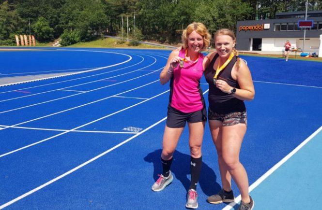 Hardlopen met Tony en Danaid - met medaille