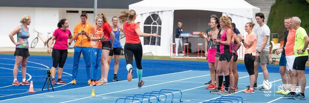 Hardlopen met Tony en Danaid - sprint