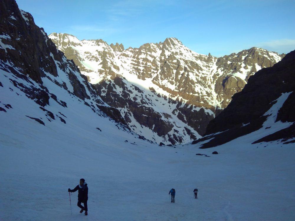Mount Toubkal hiken marokko hardlopen