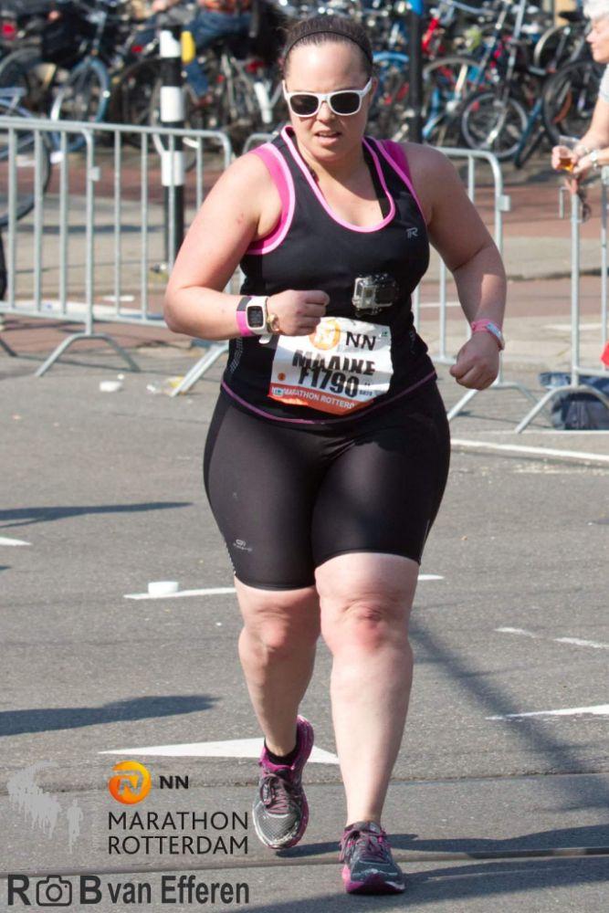 Maaike Portenge - Rotterdam Marathon