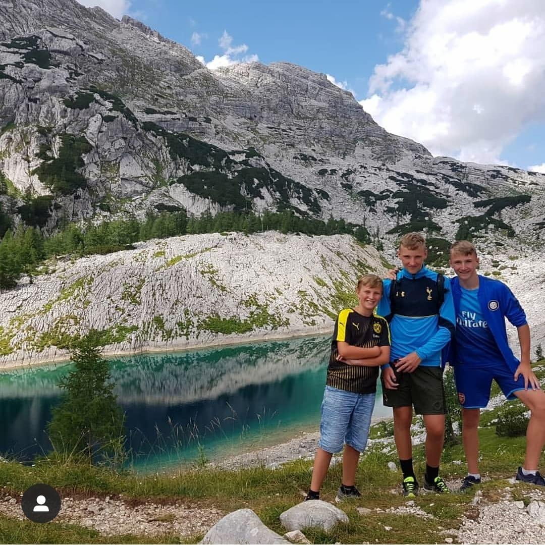 slovenia julian alps hiken hardlopen