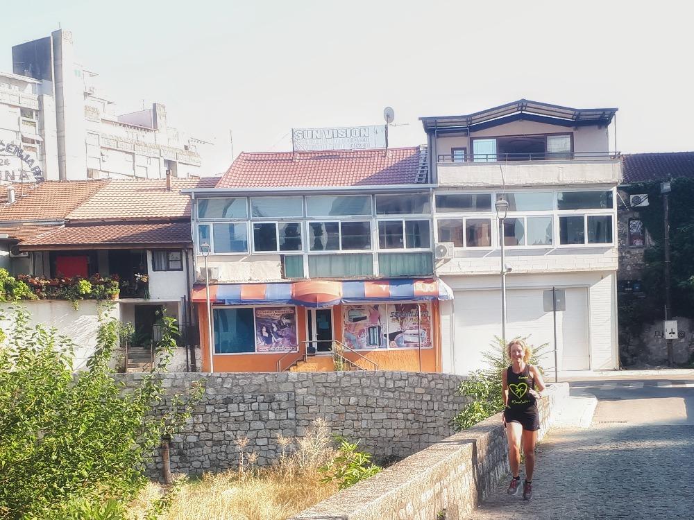 Hardlopen in Podgorica - blokkendozen