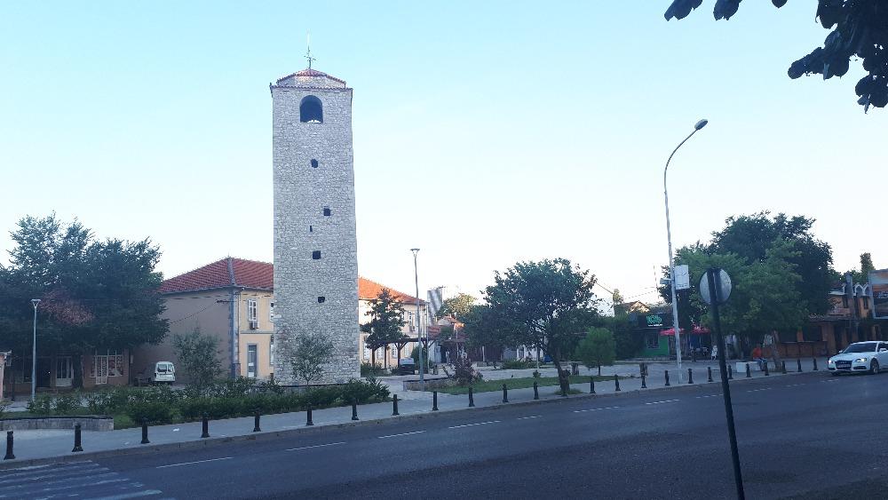 Hardlopen in Podgorica - de oude klokkentoren