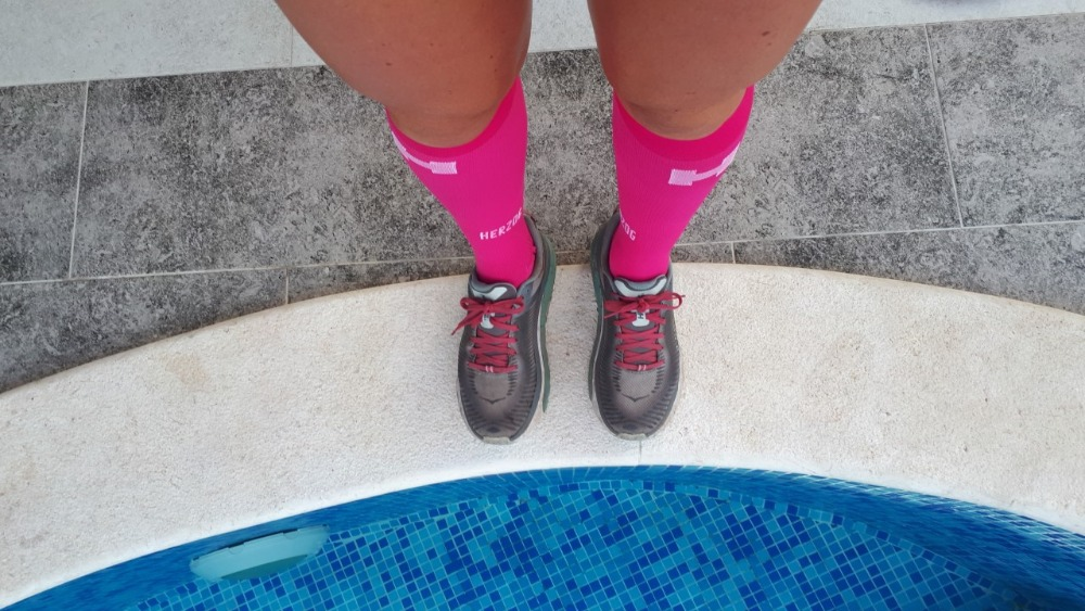 Hardlopen Skadarmeer-zwembad