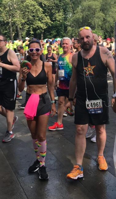 Runninggirl Monique - Pride Run