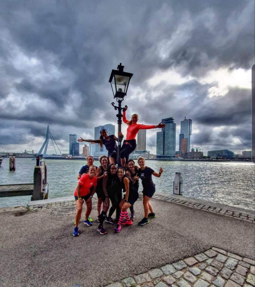 Runninggirl Monique - Rotterdam