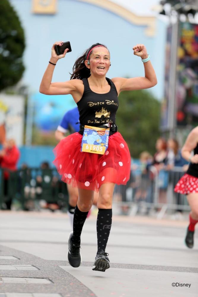 Runninggirl Monique - doorzetter
