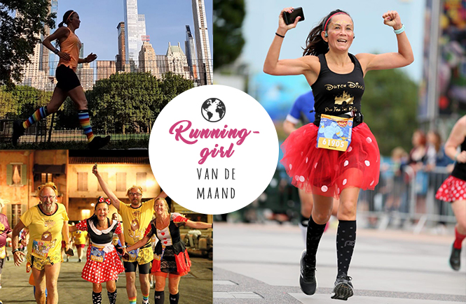 Runninggirl van de maand Monique Veldhuizen