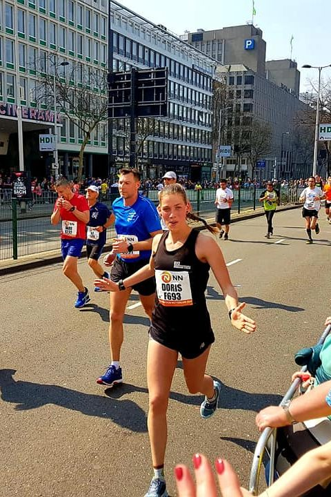 Doris marathon hardlopen