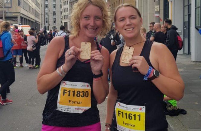 Halve marathon Keulen - medaille