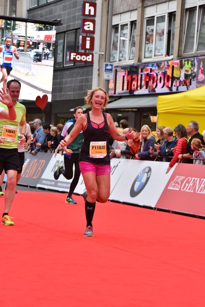 Halve marathon Keulen - rode loper