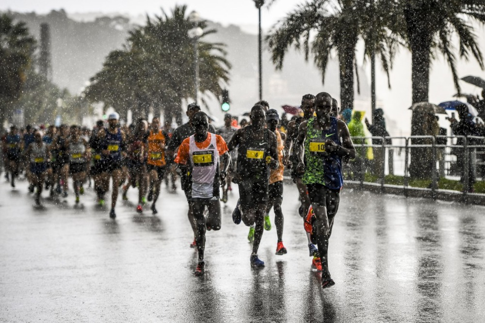 Marathon des Alpes Maritimes - de start