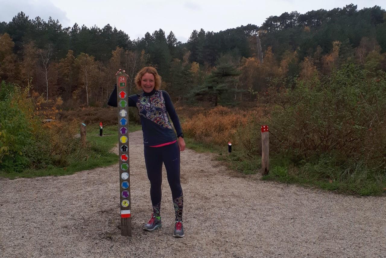 Voorbereiding Groet uit Schoorl Run - paarse route