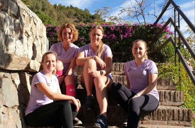 Halve marathon Malaga - Girls Run The World