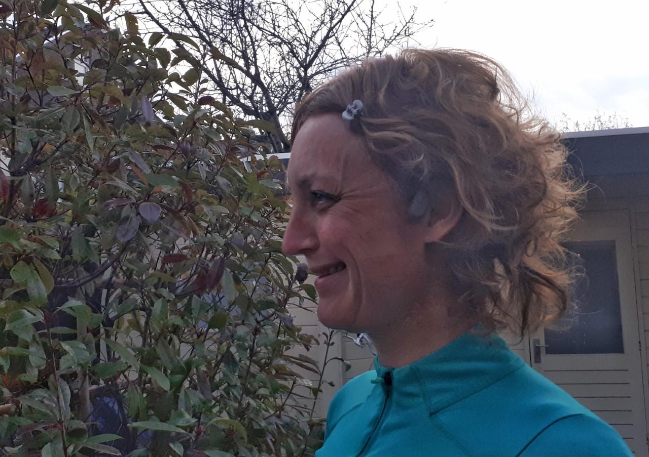 Halve marathon Malaga - happy runner